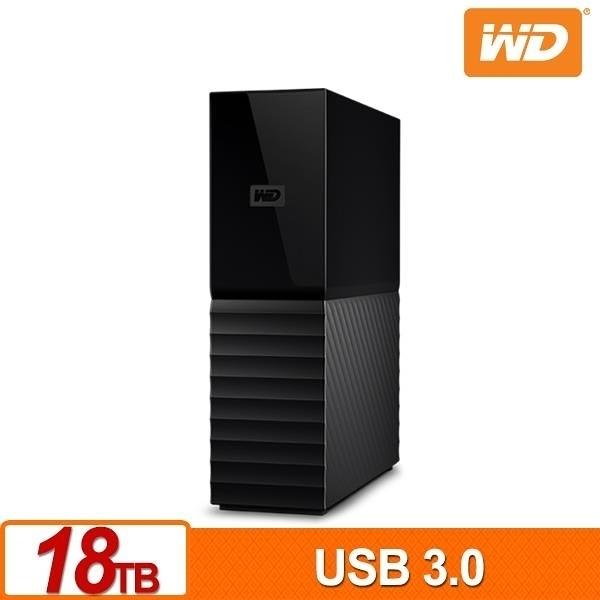 全新 WD My Book 18TB 3.5吋外接硬碟(SESN)