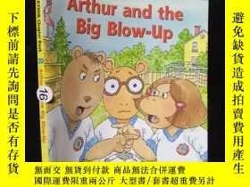 二手書博民逛書店Arthur罕見and the Big Blow-Up 20..