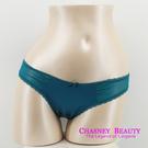 Chasney Beauty-緞面S-L三角褲(湖水綠)