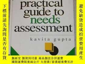 二手書博民逛書店A罕見Practical Guilde to Needs Assessment Navigate Gupta 英語
