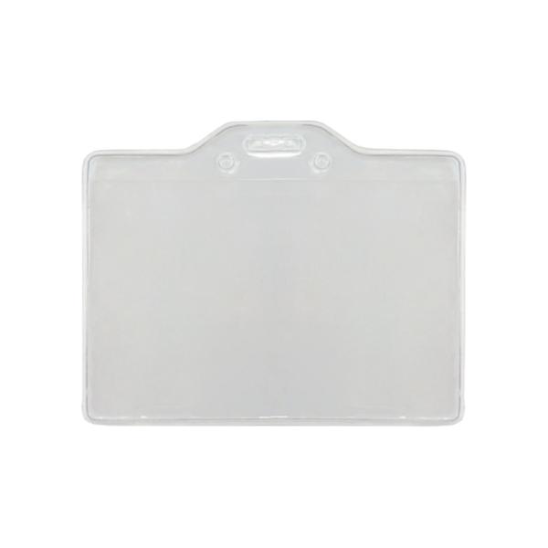 透明識別證套 橫式 證件夾 工作證套 透明證件套 識別證件套 證件卡套 證件帶套 識別套