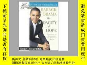 二手書博民逛書店The罕見Audacity of Hope: Thoughts