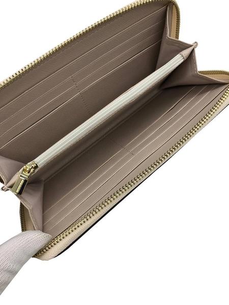 ~雪黛屋~COACH 長夾國際正版保證進口防水防刮皮革U型拉鍊包覆主袋附品證等10-15日C293841
