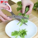 不銹鋼強力剪刀 食品 雞骨剪 廚房 蔥花剪 強力食物剪 菜葉 蔬菜 水果【P357】米菈生活館