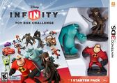 3DS DISNEY INFINITY Starter Pack 迪士尼無限世界(美版代購)