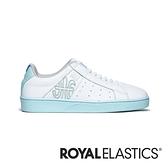 ROYAL ELASTICS Icon Genesis 藍白真皮運動休閒鞋 (女) 91901-040
