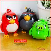 憤怒鳥 Angry Birds 正版 四肢會動造型吊飾 兒童 卡通 玩具 公仔 B17051