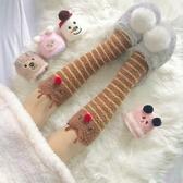 3雙 厚襪子女加絨超厚睡覺珊瑚絨聖誕保暖睡眠襪【聚寶屋】