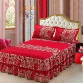 新款式床裙床罩單件保護套床單床蓋雙人5*6尺床防滑床套床包組·樂享生活館