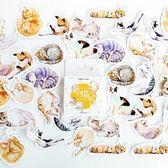 【BlueCat】陌墨貓有病 盒裝貼紙 手帳貼紙 (45入)