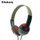 《Skullcandy》Uproar阿波羅 小耳罩式耳機-深綠橘紅