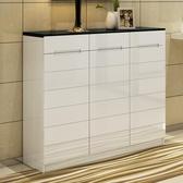 家用門口簡約現代烤漆多功能簡易經濟型組裝大容量玄關門廳柜