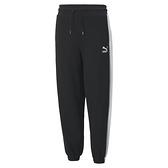 PUMA Classics 女款黑色寬鬆長褲-NO.53028201
