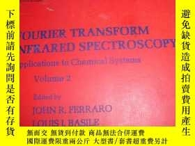 二手書博民逛書店FOURIER罕見TRANSFORM INFRARED SPEC
