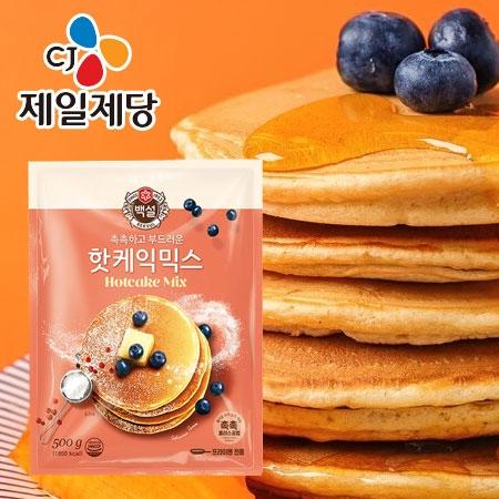 韓國 CJ 鬆餅粉 500g 韓國鬆餅粉 韓式 烘焙 麵粉 鬆餅 甜點 下午茶