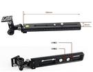 【聖影數位】Cayer 卡宴 AGS280 400mm-600mm長鏡頭支架 (相容Manfrotto燕尾槽快拆板)
