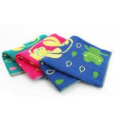 里和Riho LOVEL日雜塗鴉青蛙雨點紗布童巾 33x33cm 3色可選 哺乳巾 紗布巾 毛巾