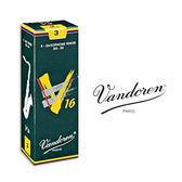 小叮噹的店- 法國 Vandoren TENOR V16 次中音薩克斯風竹片 5片裝 T-V16
