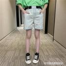 女童牛仔短褲夏裝2020新款童裝夏季外穿洋氣寬鬆夏天薄款兒童褲子 Cocoa