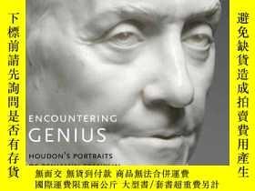 二手書博民逛書店Encountering罕見Genius: Houdon s Portraits of Benjamin Fran
