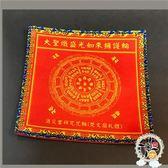大聖熾盛光如來擁護咒輪 紅色桌巾桌布19公分【 十方佛教文物】