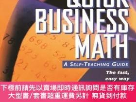 二手書博民逛書店預訂Quick罕見Business Math: A Self-Teaching GuideY492923 St