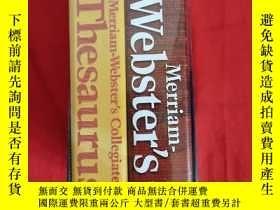 二手書博民逛書店Merriam-websters罕見Collegiate Reference Set (dictionary) (