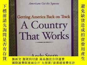 二手書博民逛書店A罕見Country That Works Getting Am