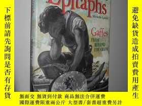 二手書博民逛書店Eccentric罕見epitaphs: Gaffes from