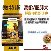 【SofyDOG】LOTUS樂特斯  養生鮮雞佐沙丁魚 高齡/肥胖犬-中顆粒(5磅)狗飼料 老犬