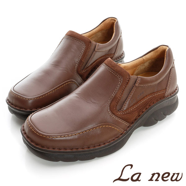【La new outlet】三密度PU氣墊休閒鞋(男222015421)