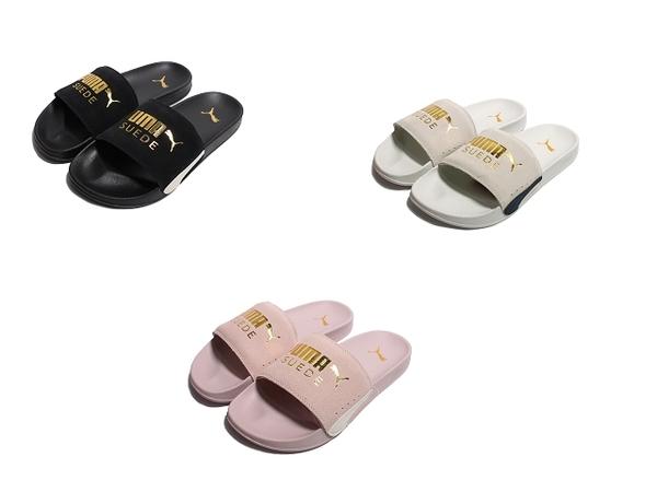 PUMA 女拖鞋 LEADCAT FTR SUEDE CLASSIC-37227701/37227703/37227709