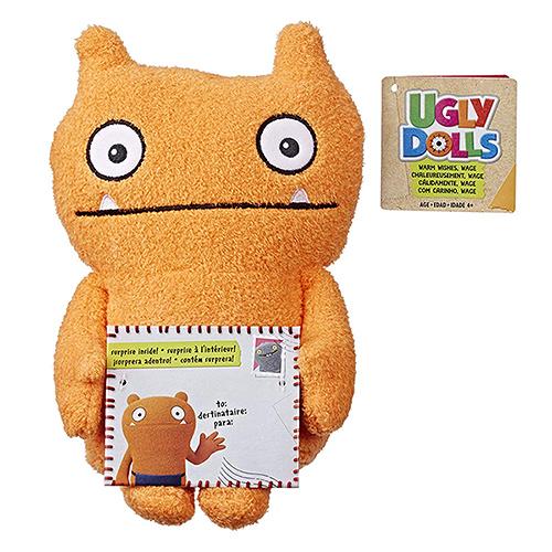 《 UGLYDOLLS 醜娃娃 》送情書絨毛娃娃 - Wage(橘)╭★ JOYBUS玩具百貨