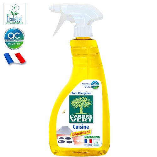 法國【綠活維】廚房清潔噴霧 740ml