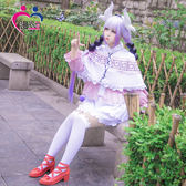 龍女仆妹抖龍康納cos服康娜cosplay假發頭飾女仆裝日常  SMY12563【KIKIKOKO】