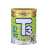 雪印 金T3成長營養配方奶粉900g/罐 大樹