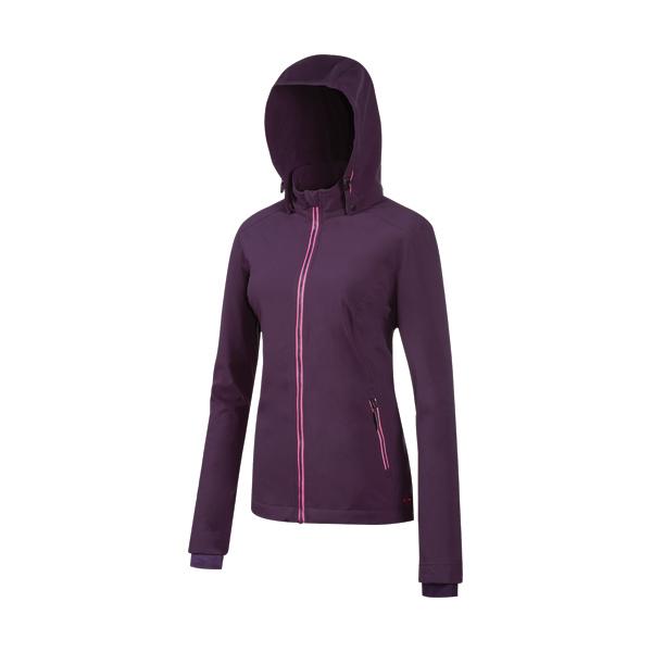 [Mountneer] 山林 (女) 輕量防風 SOFT SHELL 外套 暗紫 (32J06-92)