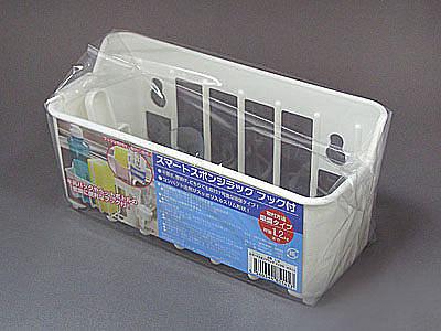 日本設計 壁掛平放兩用海綿架 強力吸盤 廚房收納 衛浴收納【SV3250】BO雜貨