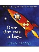 二手書博民逛書店 《Once There Was a Boy...》 R2Y ISBN:000758461X│OliverJeffers