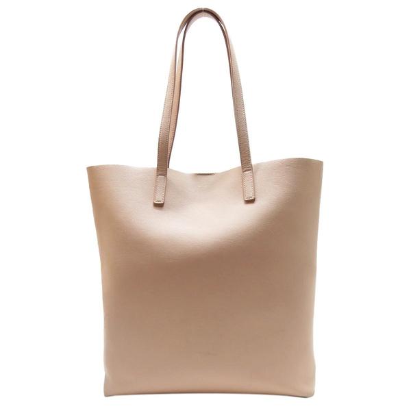 SAINT LAURENT YSL 聖羅蘭 粉色牛皮托特包 Shopping Tote Bag 300306 【BRAND OFF】