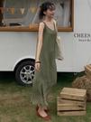 egg裙法式初戀吊帶夏季韓版小清新波點裙子氣質桔梗法式連身裙女春季特賣