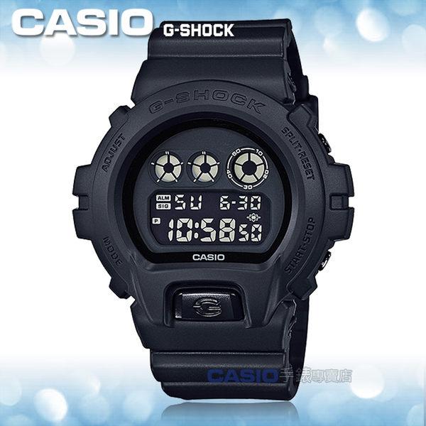 CASIO 卡西歐 手錶專賣店 G-SHOCK DW-6900BB-1D R 男錶 樹脂錶帶 防震 秒錶 倒數計時器