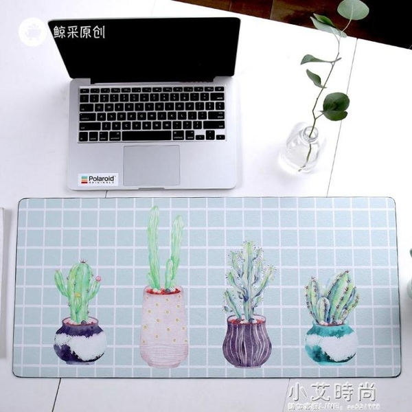 電腦辦公室學習防水寫字桌墊書桌墊創意家用滑鼠墊超大號【小艾新品】