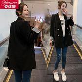 西裝外套 chic網紅小西裝外套女春秋新款韓版時尚寬鬆休閒小西服女上衣 免運
