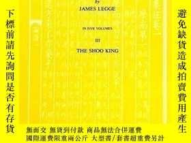 二手書博民逛書店The罕見Shoo King Or The Book Of Historical Documents (chine