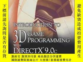 二手書博民逛書店Introduction罕見To 3d Game Programming With Direct X 9.0c