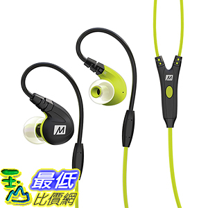 [美國直購] MEE audio 紅黑藍綠四色 M7P Secure-Fit Sports In-Ear Headphones 耳道式 運動 耳機