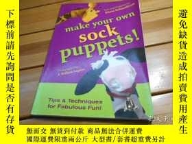 二手書博民逛書店make罕見your own sock puppets!Y204