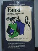 【書寶二手書T8/原文小說_LPQ】Faust_Johann Wolfgang Von Goethe