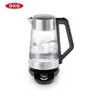 《不囉唆》*贈送不鏽鋼調酒匙* OXO可調溫電茶壺1.75L (不挑色/款) 沖茶器 咖啡壺 泡茶壺【VOAK010509】